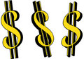 Free Dollar Sign Royalty Free Stock Photo - 3506925