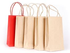 Free Shopping Bags Stock Photography - 3500572