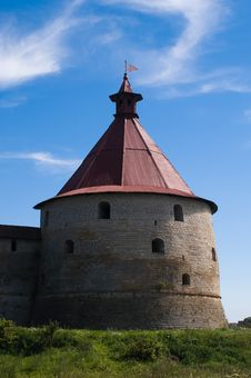 Free Ancient Castle Tower Royalty Free Stock Image - 3500606