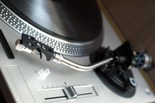 Vinyl Disk Player Royalty Free Stock Images