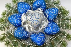 Free Christmas Tree Ornaments Royalty Free Stock Photos - 3501188