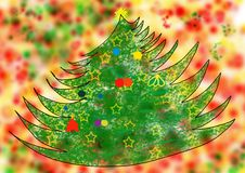 Free Christmas Tree Royalty Free Stock Photography - 3501207