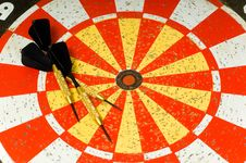 Free Dartboard Royalty Free Stock Photos - 3501448
