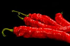 Free Red Hot Chili Peppers Royalty Free Stock Photos - 3501538