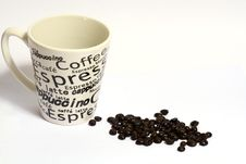 A Cup Of Coffe Stock Images