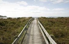 Free On The Boardwalk Royalty Free Stock Images - 3501559