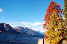 Free Lake Autumn Royalty Free Stock Images - 3502179