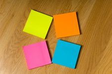 Multicolored Notes Royalty Free Stock Images