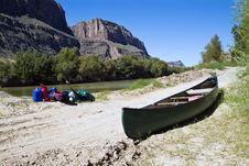 Free Canoe Trip End Stock Photo - 3502450