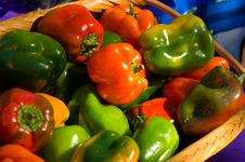 Free Fresh Bell Peppers Royalty Free Stock Photography - 3502537