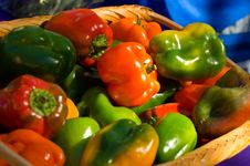 Free Fresh Bell Peppers Stock Photography - 3502542