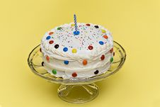 Free Birthday Cake Royalty Free Stock Photography - 3502667