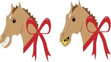 Free Look A Gift Horse In The Mouth Royalty Free Stock Image - 3502676