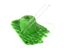 Free Knitting; Royalty Free Stock Photo - 3503605
