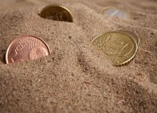 Free Money Desert Stock Image - 3504031