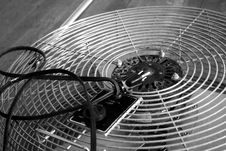 Free Dusty Vintage Electic Fan Royalty Free Stock Photos - 3504238
