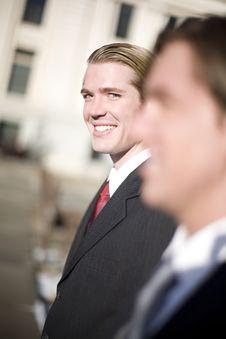 Free Businessman Glance Stock Images - 3505034