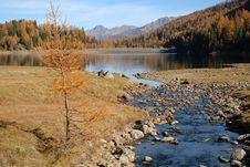 Free Lake In High Mountain Royalty Free Stock Image - 3505586