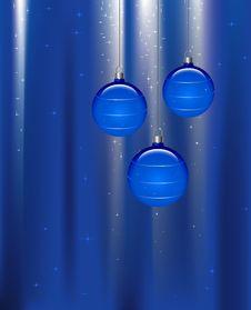 Free Christmas Globes Stock Image - 3505671