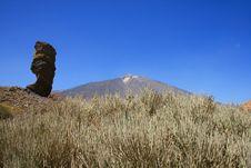 Free Garcia Rock And Volcano Teide Stock Photography - 3506562