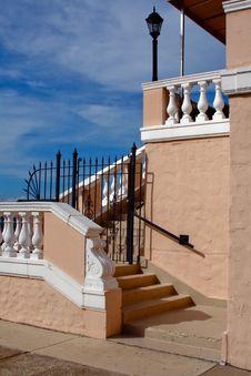 Free Stairs, Veranda, And Sky Stock Photography - 3506862
