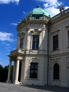 Free Belvedere Palace In Vienna Stock Photo - 3507330