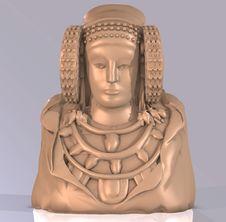 Free Statue Of Dama Stock Photography - 3507802