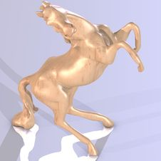 Free Statue Of An Horse Royalty Free Stock Photography - 3507837
