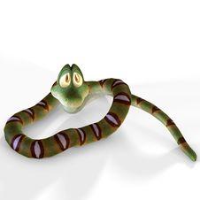 Free Cute Cartoon Snake Stock Photos - 3508243