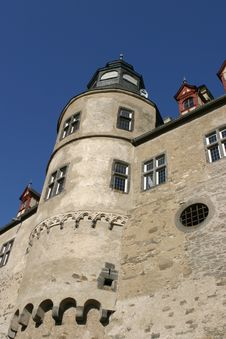 Free Old German Medieval Castle Royalty Free Stock Photo - 3508245