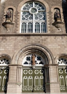 Free Church Front Stock Photo - 3508250