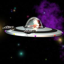 Free UFO 04 Royalty Free Stock Photo - 3508285