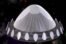 Free UFO Royalty Free Stock Image - 3508286