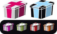 Free Box Illustration Royalty Free Stock Photo - 3508485