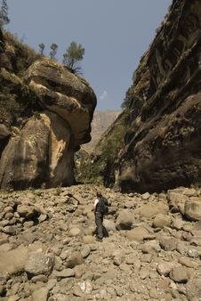 Free Hiking Up Kwa Zulu Natal Royalty Free Stock Images - 3509079