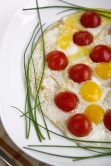 Free Fried Eggs Royalty Free Stock Photos - 3509148
