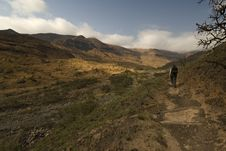 Free Hiking Up Kwa Zulu Natal Stock Photography - 3509282