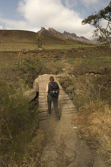 Free Hiking Up Kwa Zulu Natal Stock Photography - 3509362