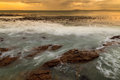 Free Seascape And Wave At Dawn Stock Photo - 35006670