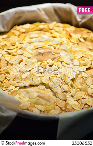 Free Pear Pie Stock Photography - 35006552