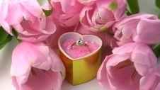 Ring As A Gift Stock Photos