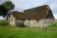 Traditional Scottish Farmhouse. Stock Image