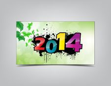 Free New Year Card. Royalty Free Stock Images - 35004199