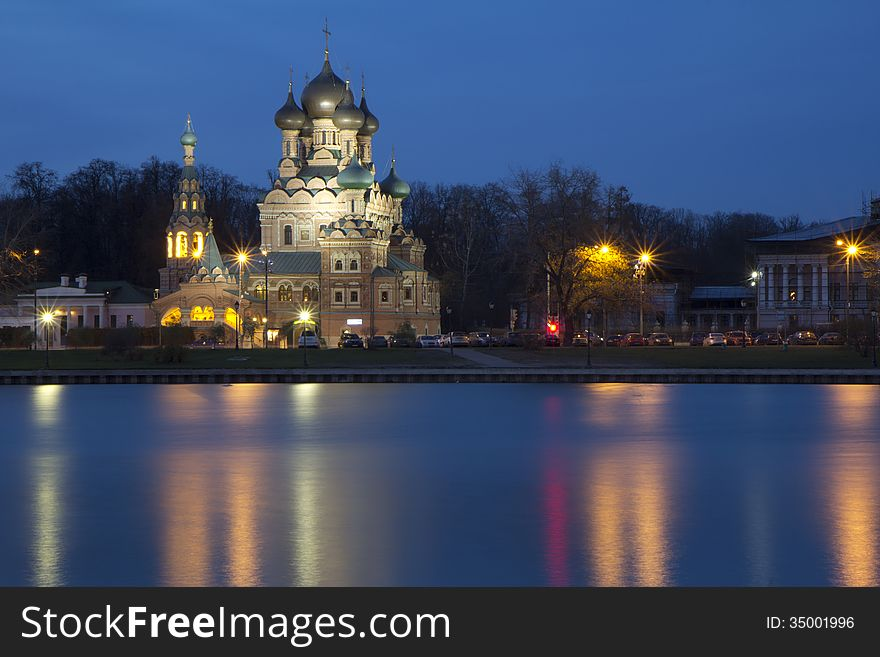 Russia. Moscow. Church of the Holy Trinity.