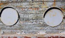 Free Old Iron Portholes Royalty Free Stock Photos - 35014708