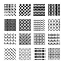 Free Seamless Geometrical Patterns Royalty Free Stock Image - 35014726