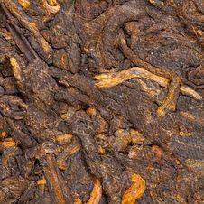 Free Pressed Chinese Puer Tea Stock Image - 35019291