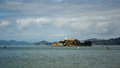 Free Alcatraz Prison In The San Francisco Bay Stock Photography - 35023062