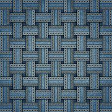 Free Vector Wicker Denim Texture Royalty Free Stock Image - 35023296