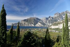 Free Lake Garda View Stock Image - 35026041